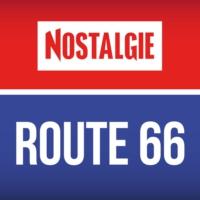 Logo of radio station NOSTALGIE Route 66