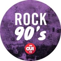 Logo de la radio OUI FM Rock 90's