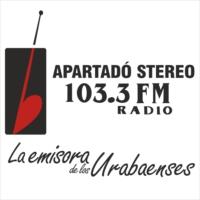 Logo of radio station Apartadó Stereo