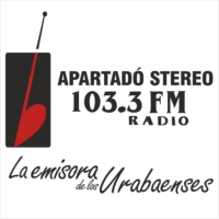 Logo of radio station Apartadó Stereo