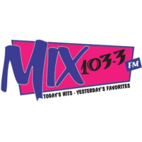 Logo of radio station WMXS Mix 103