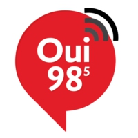 Logo of radio station CKRH-FM Oui 98 FM
