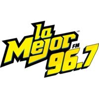 Logo of radio station XHNGS-FM La Mejor 96.7