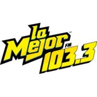 Logo of radio station XHENA-FM La Mejor 103.3
