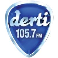 Logo of radio station Derti 105.7