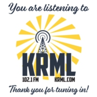 Logo of radio station KRML 102.1