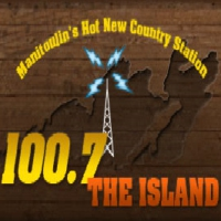 Logo of radio station The Island FM
