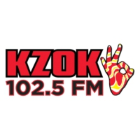 Logo of radio station KZOK 102.5