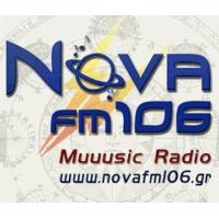 Logo of radio station Nova FM 106