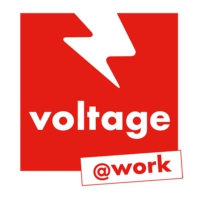 Logo of radio station Voltage @Work