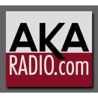 Logo of radio station AKA Radio