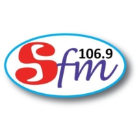 Logo of radio station 106.9 SFM