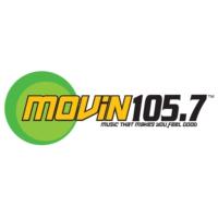 Logo of radio station KMVN Movin 105.7
