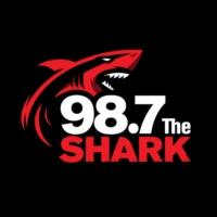 Logo de la radio WPBB 98.7 The Shark