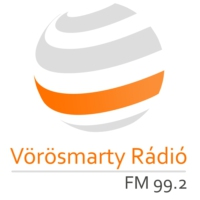 Logo of radio station Vörösmarty Rádió