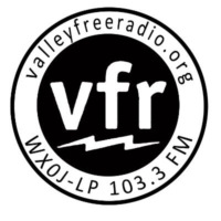 Logo of radio station WXOJ Valley Free Radio