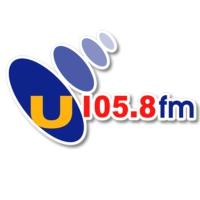 Logo of radio station U105.8 FM