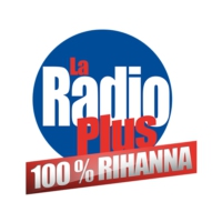 Logo of radio station La Radio Plus 100% Rihanna