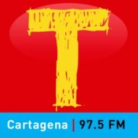 Logo de la radio Tropicana estéreo 97.5 FM