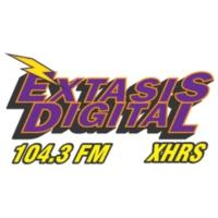 Logo de la radio XHERS Éxtasis Digital 104.3 FM