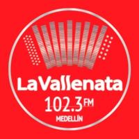 Logo de la radio La Vallenata
