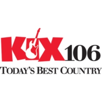 Logo of radio station WGKX Kix 106