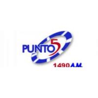 Logo of radio station Emisora Punto 5 1490 AM