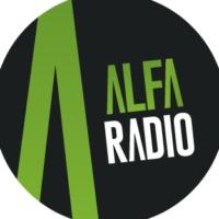 Logo de la radio ALFA Super Stereo 104.1 FM0