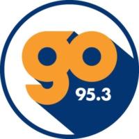Logo of radio station KZGO Go 95.3