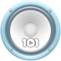 Logo of radio station 101.ru - Elton John