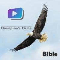 Logo of radio station Champion's Circle Bible Radio