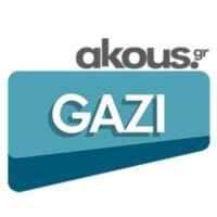 Logo of radio station Akous. Gazi