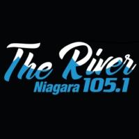 Logo of radio station 105.1 The River
