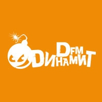 Logo of radio station DFM - ДИНАМИТ