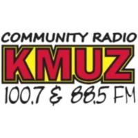 Logo of radio station KMUZ 88.5 FM