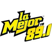 Logo de la radio XHEFG La Mejor FM 89.1