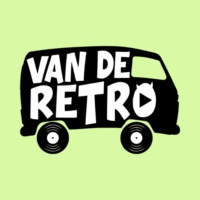 Logo of radio station Van de Retro