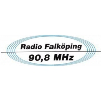 Logo of radio station Radio Falköping 90,8
