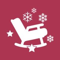 Logo de la radio 100 % Lounge Weihnachten