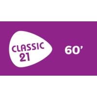Logo of radio station Classic 21 - 60's (RTBF)
