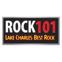 Logo of radio station KKGB Rock 101