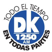Logo of radio station XEDK-AM DK 1250