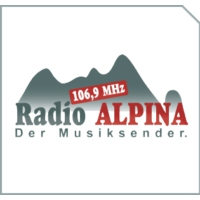Logo of radio station Radio Alpina