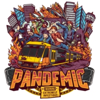 Logo of radio station Pandemic