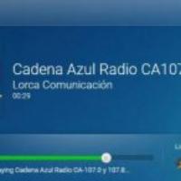 Logo of radio station Cadena Azul Lorca 107.0 & 107.8 FM
