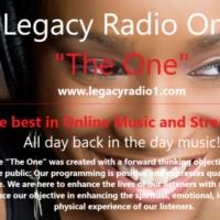 "Logo de la radio Legacy Radio ""The One - C-Jazz"