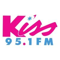 Logo de la radio WNKS Kiss 95.1