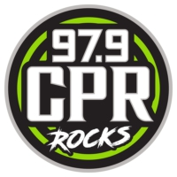 Logo of radio station 97.9 WCPR