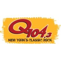Logo of radio station WAXQ Q104.3