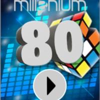 Logo of radio station MILLENIUM 80